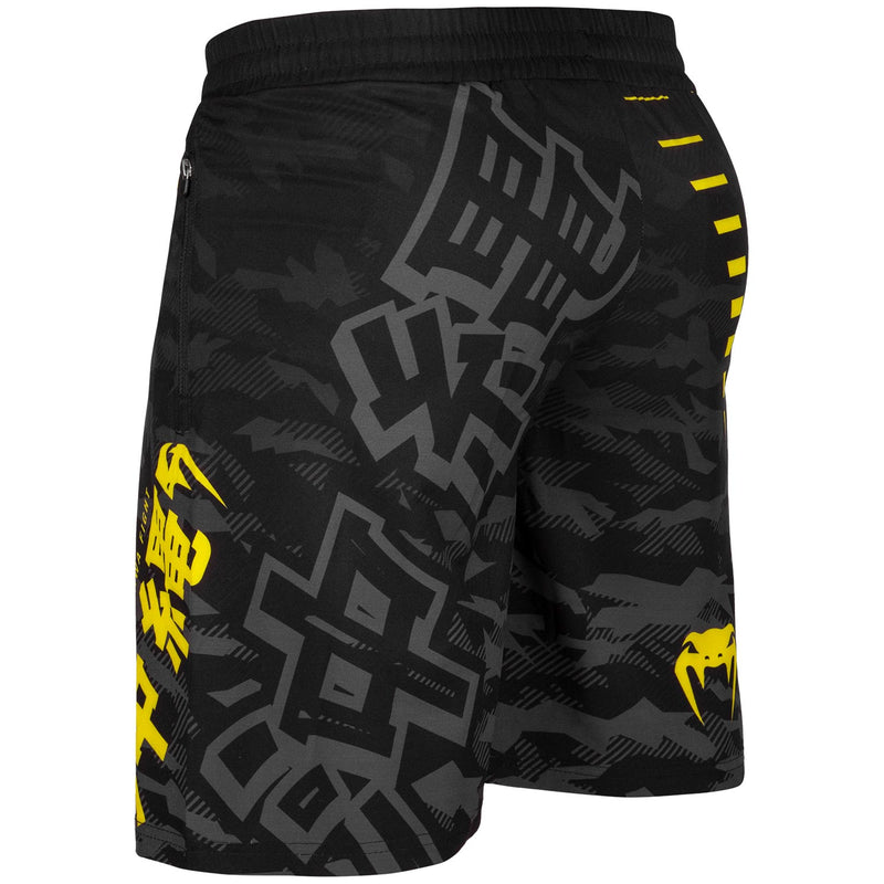 Venum Okinawa 2.0 Training Shorts – Black/Yellow picture 3