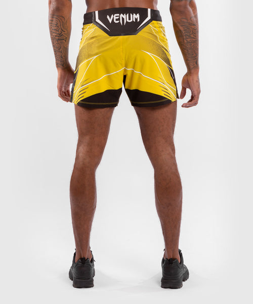 UFC Venum Authentic Fight Night Men's Shorts - Short Fit – Yellow Picture 2