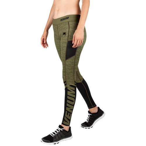 Venum Power 2.0 Leggings - For Women – Khaki/Black picture 2
