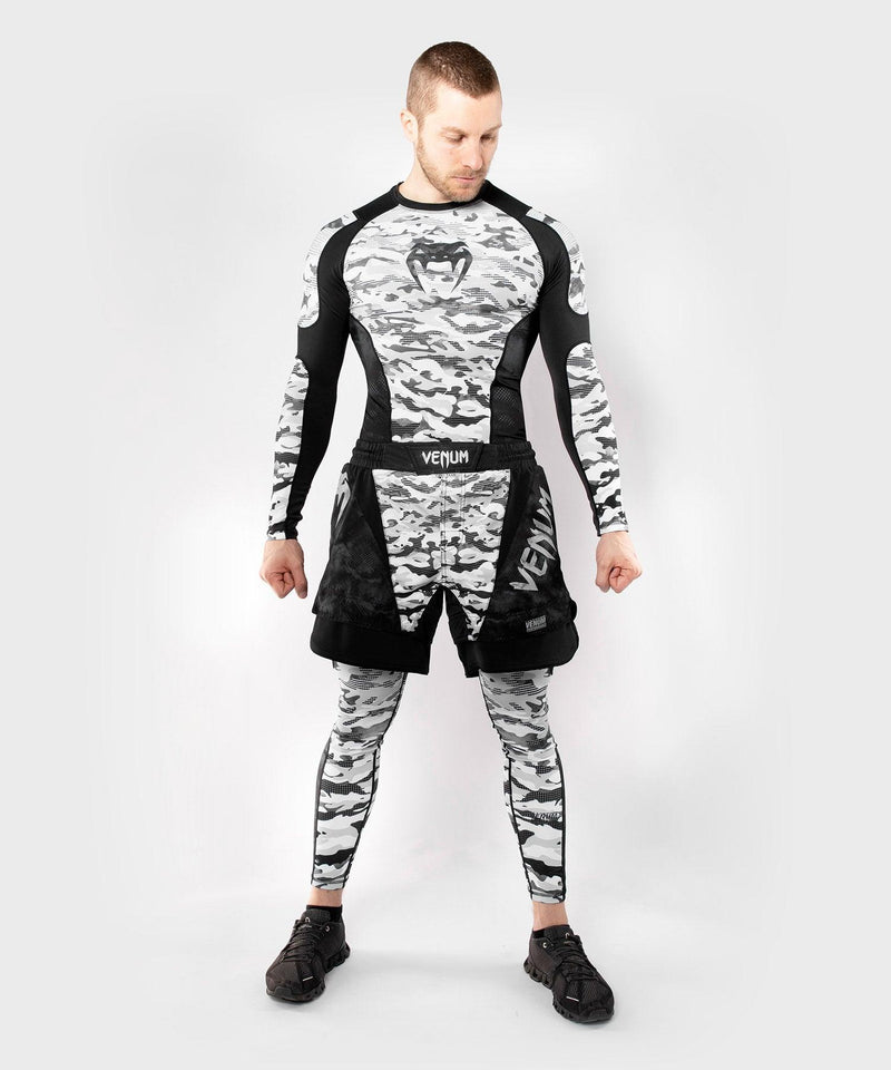 Venum Defender Rashguard - Long Sleeves - Urban Camo picture 3
