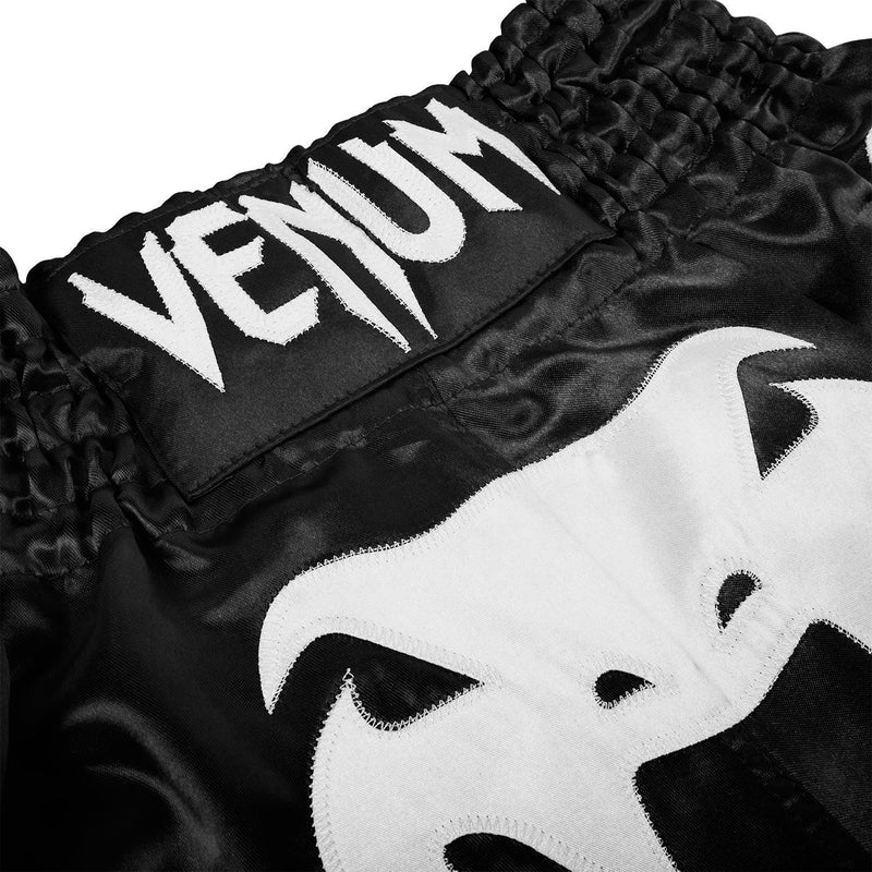 Venum Bangkok Inferno Muay Thai Shorts - Black/White picture 4