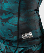 Venum Defender long sleeve Rashguard - for women - Black/Green picture 8