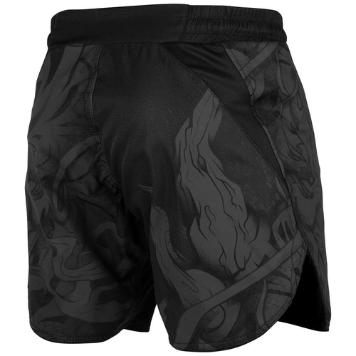 Venum Devil Fightshorts – Black/Black picture 4