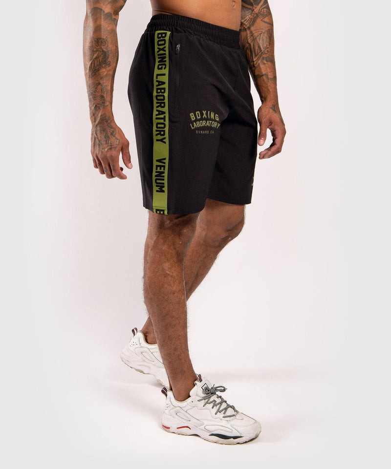 Venum Boxing Lab Fightshorts - Black/Green picture 3