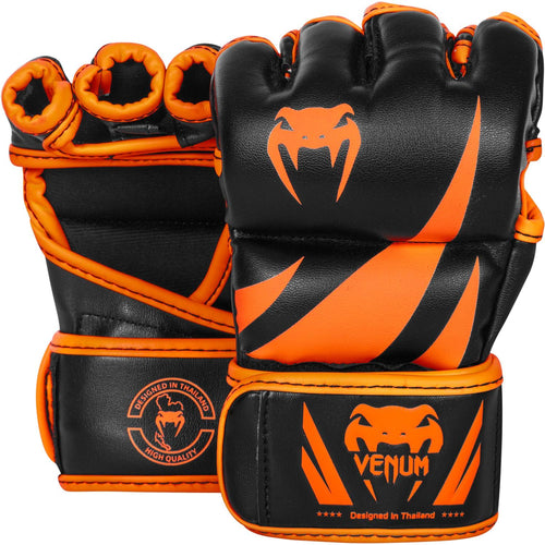 Venum Challenger MMA Gloves - Neo Orange/Black picture 1