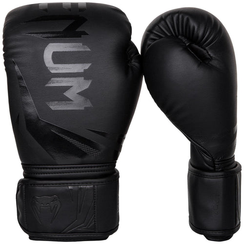 Venum Challenger 3.0 Boxing Gloves - Black/Black picture 1