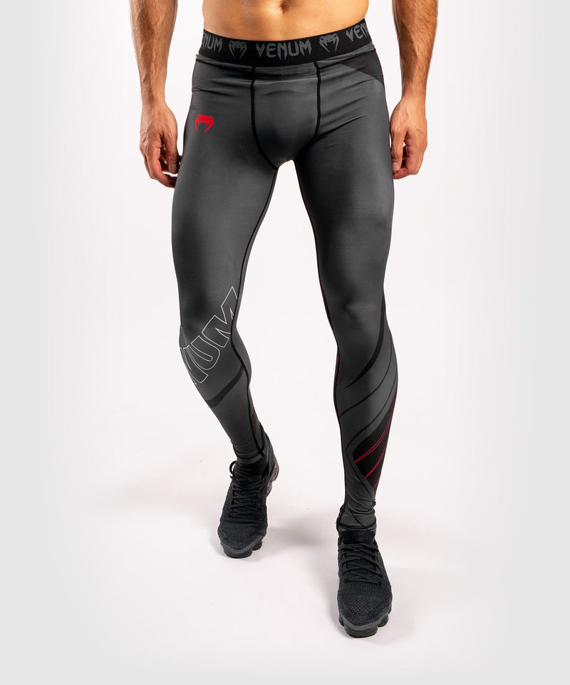 Venum Contender 5.0 Tights – Black/Red picture 1