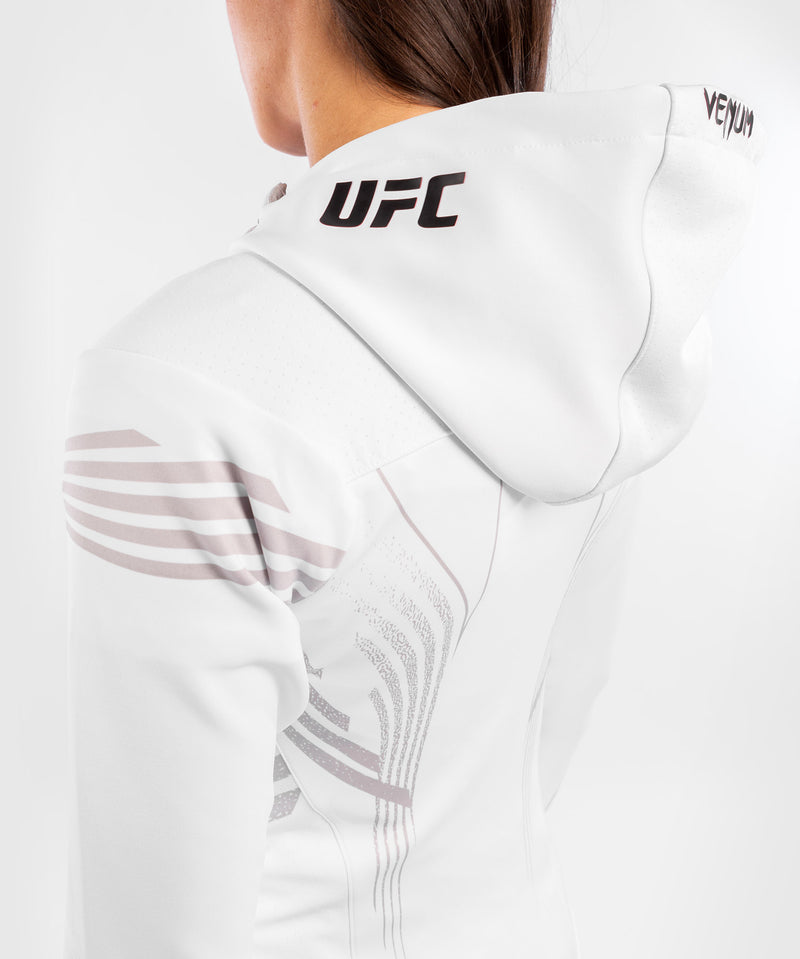 UFC Venum Authentic Fight Night Women's Walkout Hoodie – White Picture 7