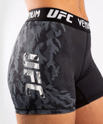 UFC Venum Authentic Fight Week Women's Performance Vale Tudo Shorts – Black Picture 5