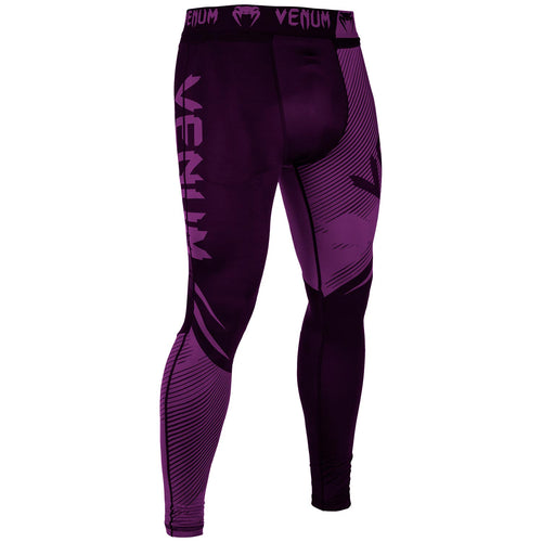 Venum NoGi 2.0 Spats – Black/Purple picture 2
