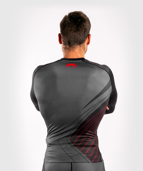 Venum Contender 5.0 Rashguard - Long sleeves - Black/Red picture 2