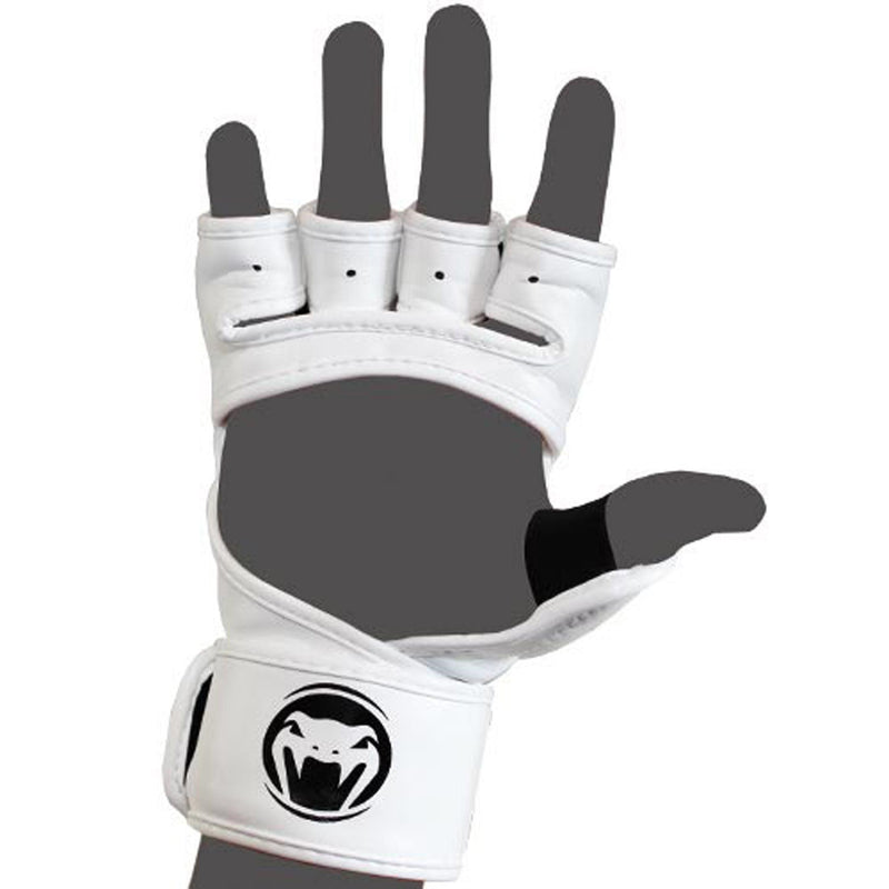 Venum Impact MMA Gloves - Skintex Leather – White picture 4