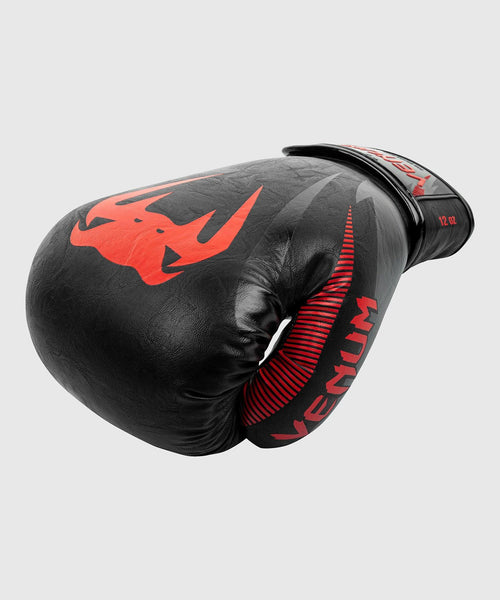 Venum Impact Boxing Gloves – Black/Red picture 2