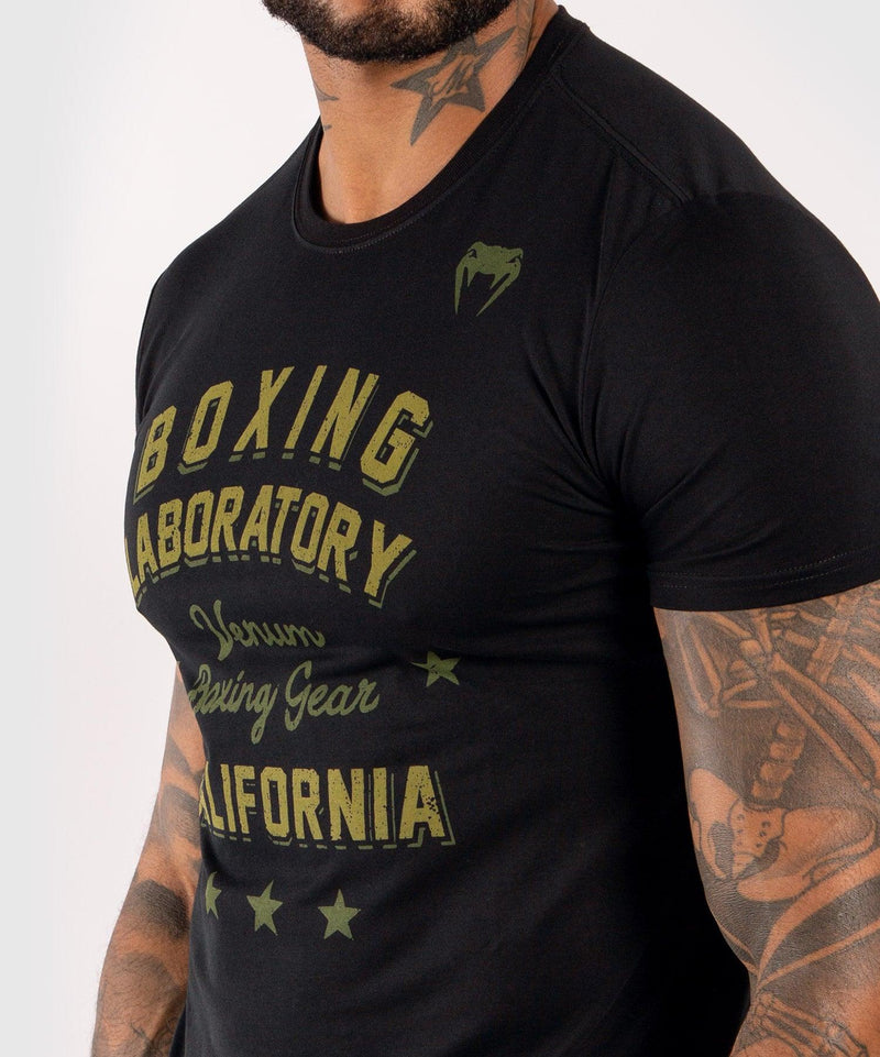 Venum Boxing Lab T-shirt - Black/Green picture 5
