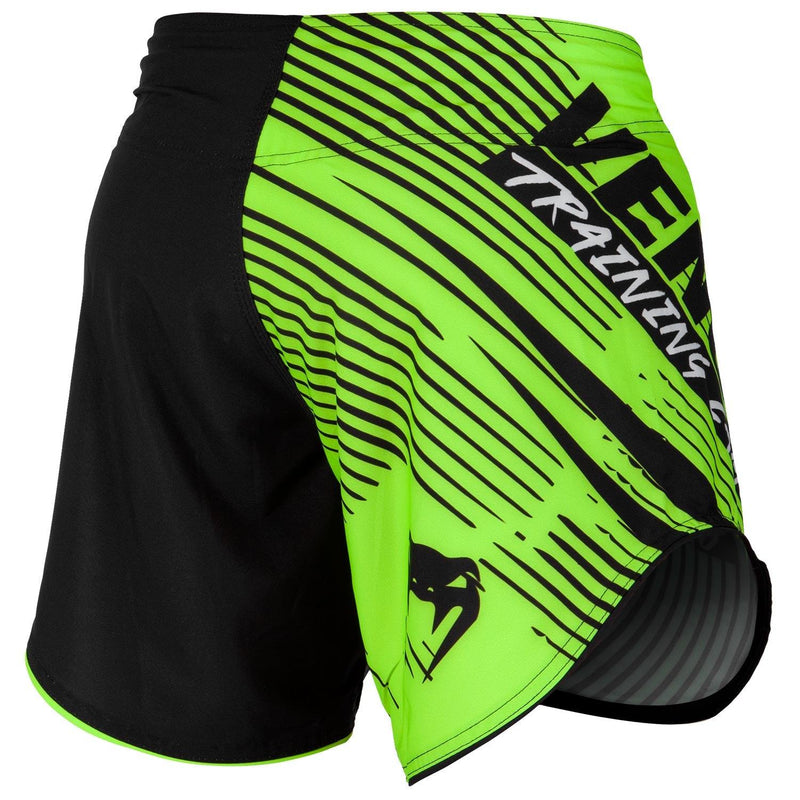 Venum Training Camp 2.0 Fightshorts - Black/Neo Yellow picture 3
