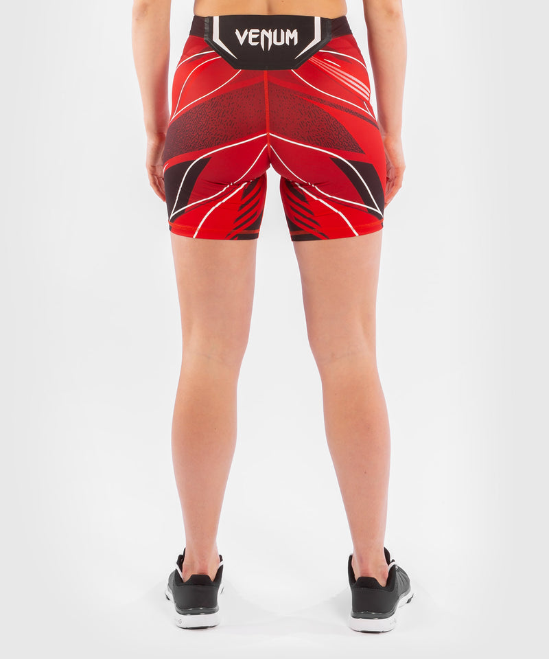 UFC Venum Authentic Fight Night Women's Vale Tudo Shorts - Long Fit – Red Picture 2