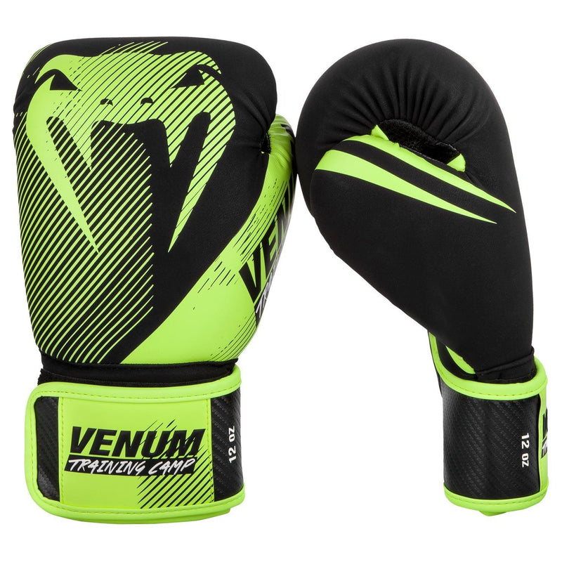 Venum Training Camp 2.0 Boxing Gloves - Black/Neo Yellow picture 2