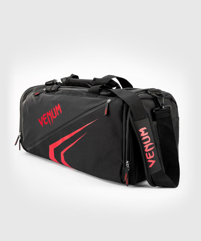 Venum Trainer Lite Evo Sports Bags - Black/Red picture 1