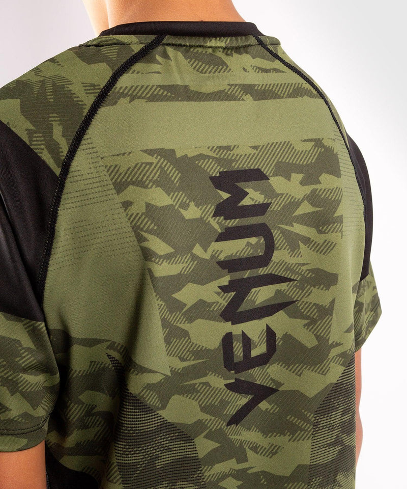 Venum Trooper Kids Dry-Tech T-shirt - Forest camo/Black picture 6