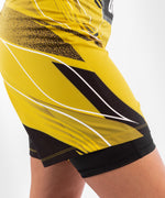 UFC Venum Authentic Fight Night Women's Shorts - Long Fit – Yellow Picture 7