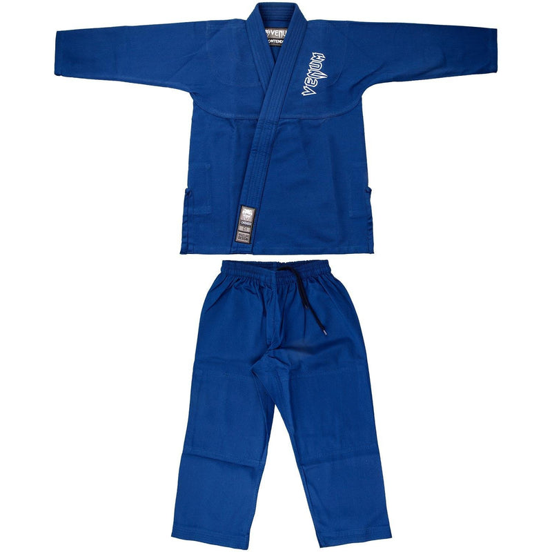 Venum Contender Kids BJJ Gi (Free white belt included) – Blue picture 14