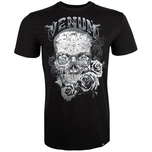Venum Santa Muerte 3.0 T-Shirt – Black/White picture 1
