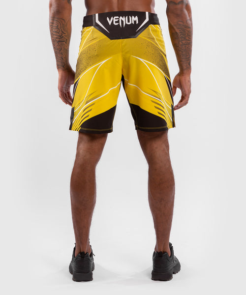 UFC Venum Authentic Fight Night Men's Shorts - Long Fit – Yellow Picture 2