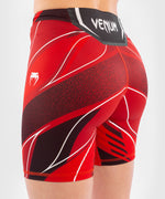 UFC Venum Authentic Fight Night Women's Vale Tudo Shorts - Long Fit – Red Picture 6