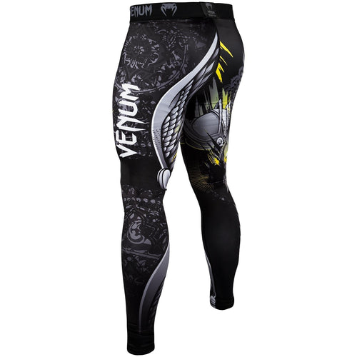 Venum Viking 2.0 Spats - Black/Yellow picture 4