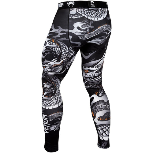 Venum Dragon's Flight Spats – Black/White picture 4