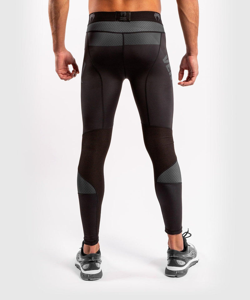 Venum ONE FC Impact Compresssion Tights - Black/Black - picture 2