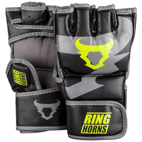 Ringhorns Charger MMA Gloves - Black/Neo Yellow picture 1