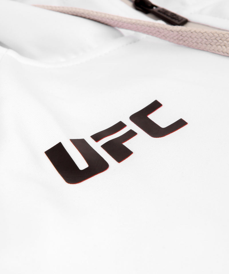 UFC Venum Personalized Authentic Fight Night Men's Walkout Hoodie - White picture 9