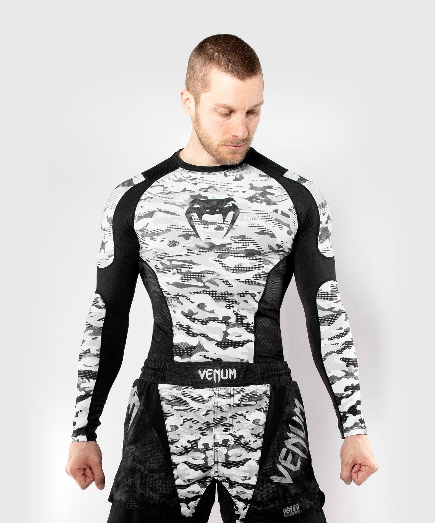 Venum Defender Rashguard - Long Sleeves - Urban Camo picture 1
