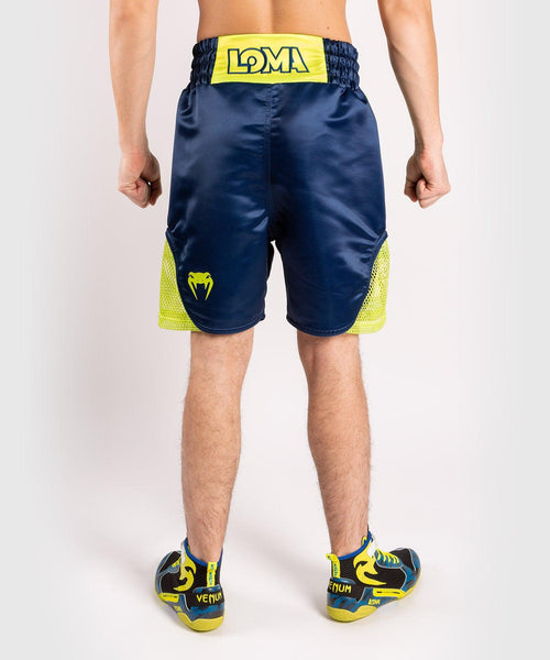 Venum Origins Boxing Short Loma Edition Blue/Yellow picture 2