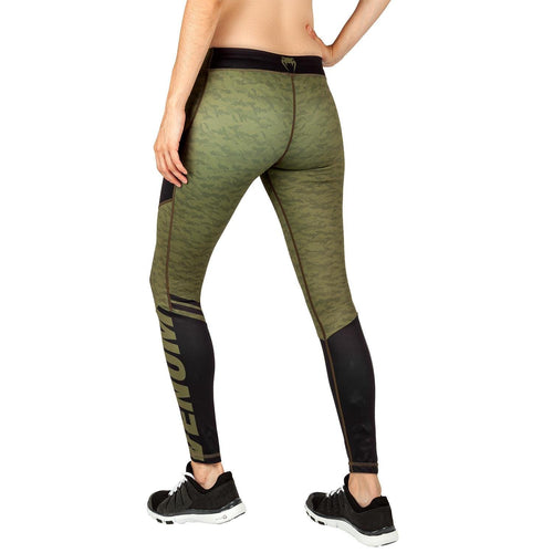 Venum Power 2.0 Leggings - For Women – Khaki/Black picture 5