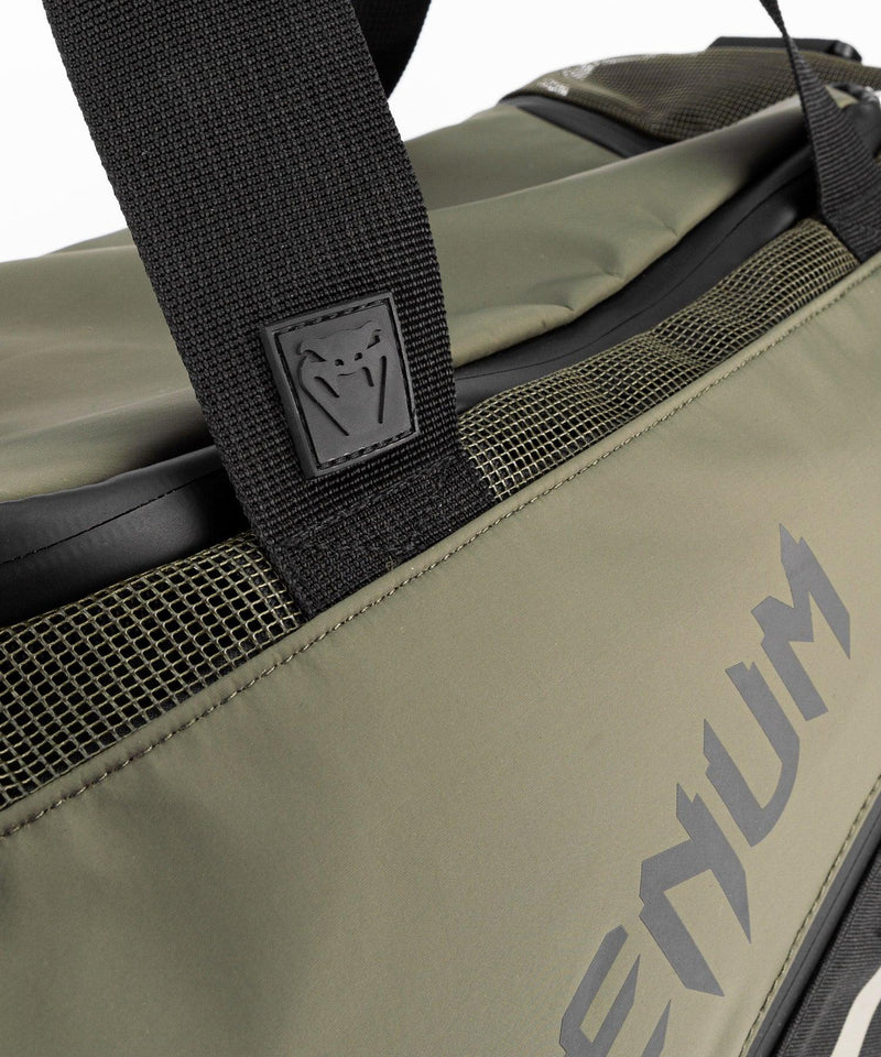 Venum Trainer Lite Evo Sports Bags - Khaki/Black picture 9
