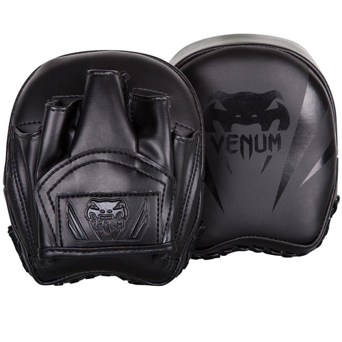 Venum Elite Mini Focus Mitts – Black/Black picture 1