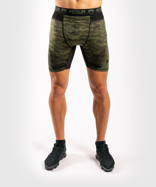 Venum Trooper compression shorts - Forest camo/Black picture 1