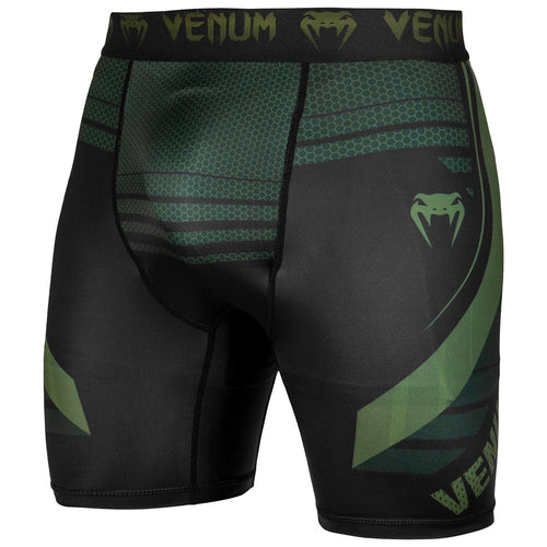 Venum Technical 2.0 Compression Shorts - Black/Khaki – Exclusive picture 1