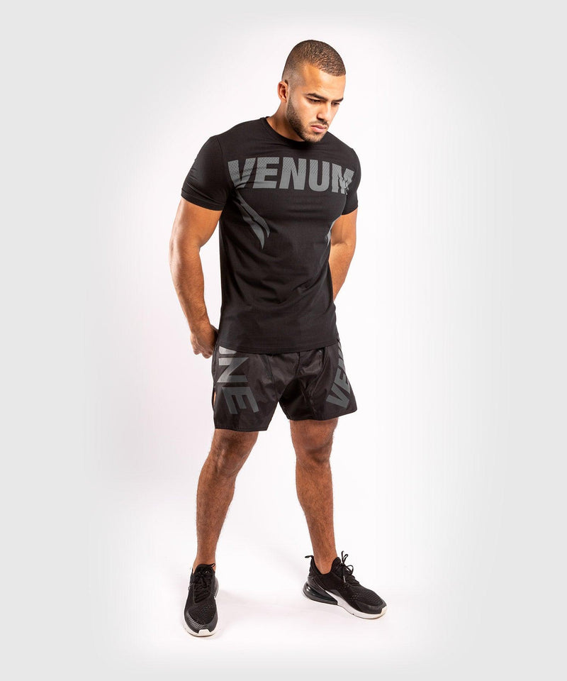 Venum ONE FC Impact T-shirt - Black/Black - picture 7