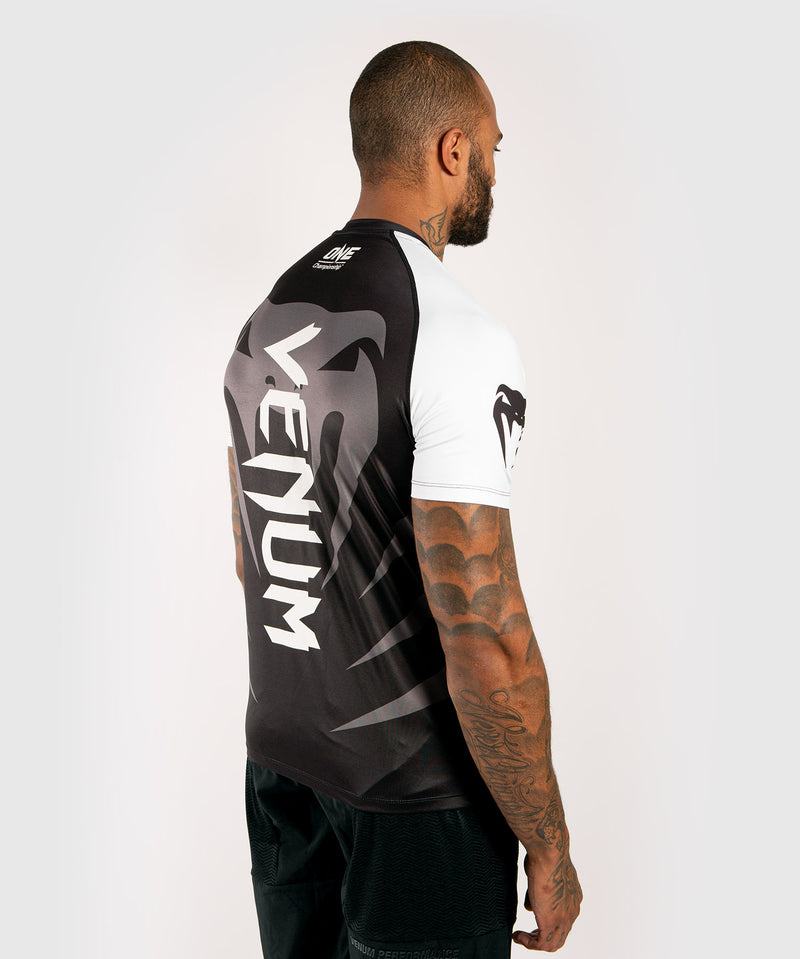Venum x ONE FC Dry Tech T-shirt - White/Black picture 4