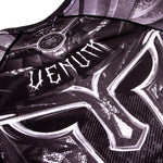 Venum Gladiator 3.0 Rashguard - Black/White - Short Sleeves picture 6