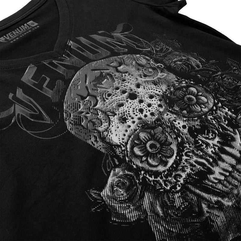 Venum Santa Muerte 3.0 T-shirt - Black/Black - For Women picture 5