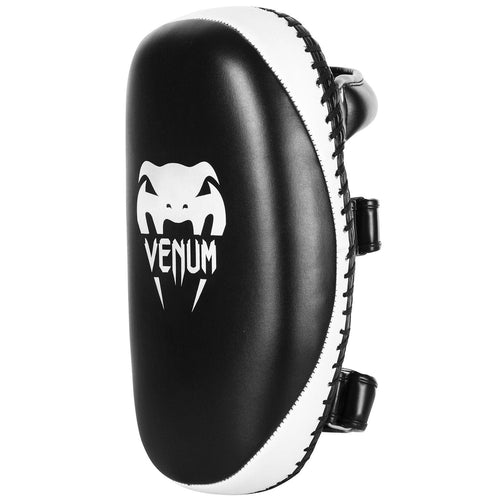 Venum Light Kick Pads - Skintex Leather - Black/Ice (Pair) picture