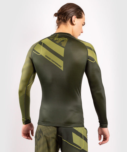Venum Loma Commando Long Sleeve Rashguard - Khaki picture 2