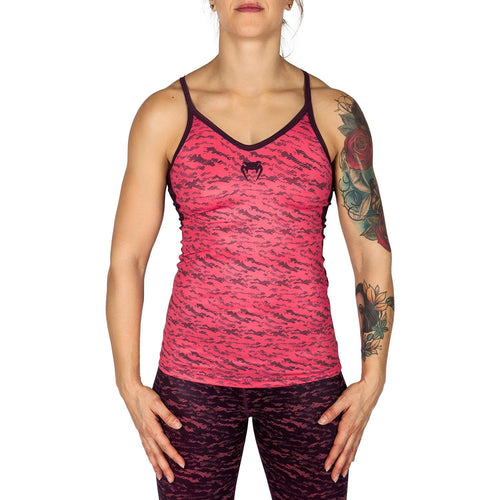 Venum Camoline Tank Top - Coral/Dark Purple picture 1