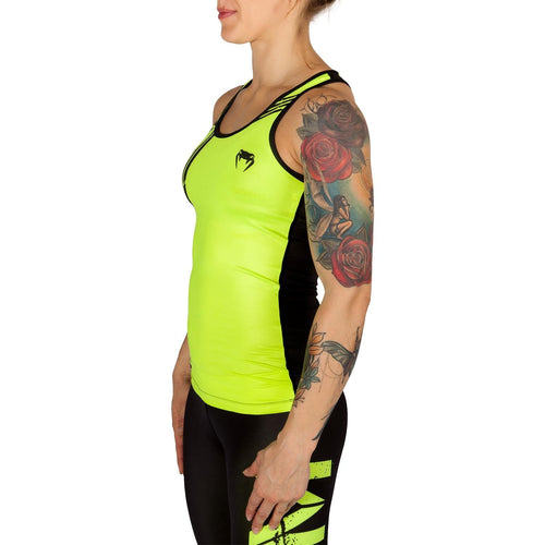 Venum Power Tank Top - Neo Yellow/Black picture 2