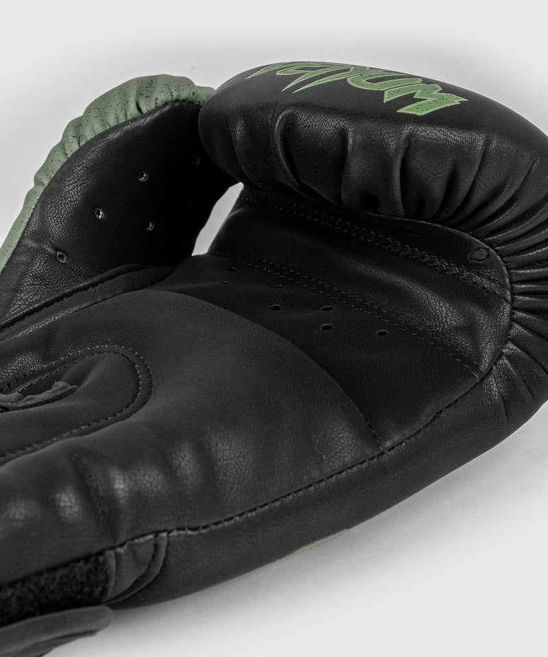 Venum Boxing Lab Gloves - Black/Green picture 6