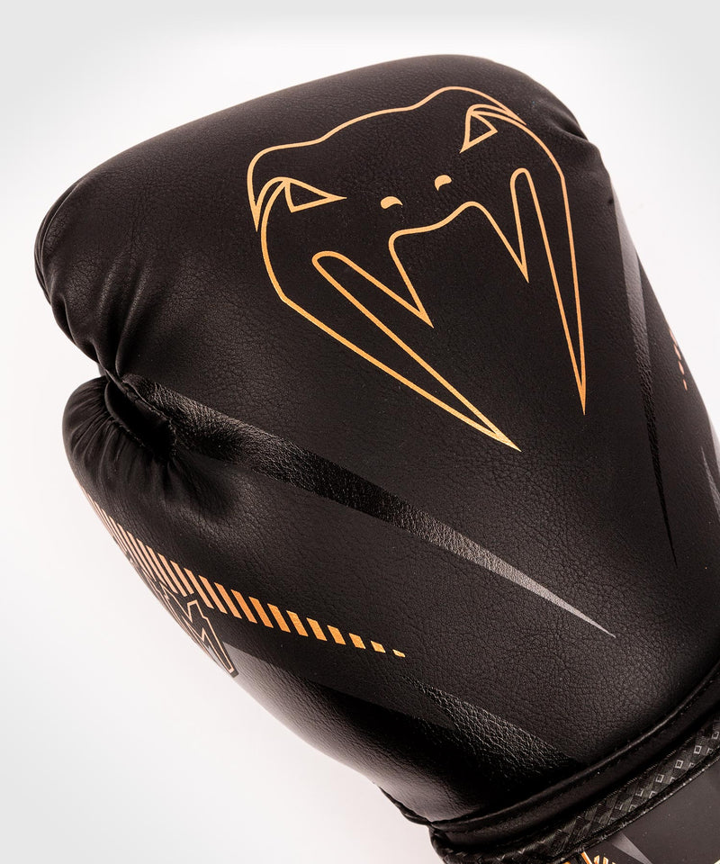 Venum Impact Boxing Gloves - Black/Bronze - picture 7